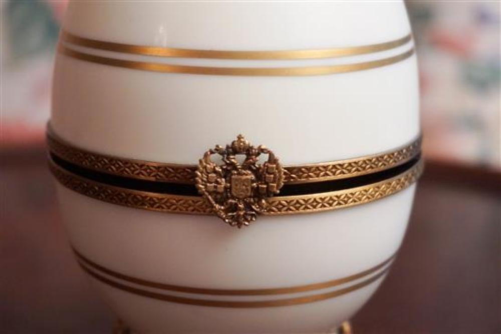 Faberge No. 156 Enamel Sterling Russian Egg