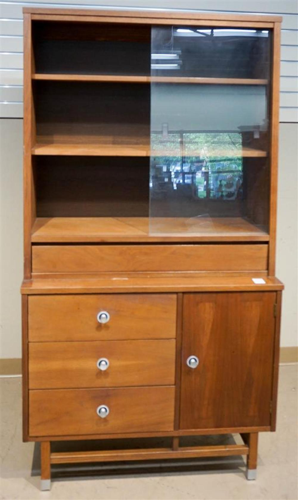 Picture of: Lot Stanley Mid Century Modern Teak China Cabinet