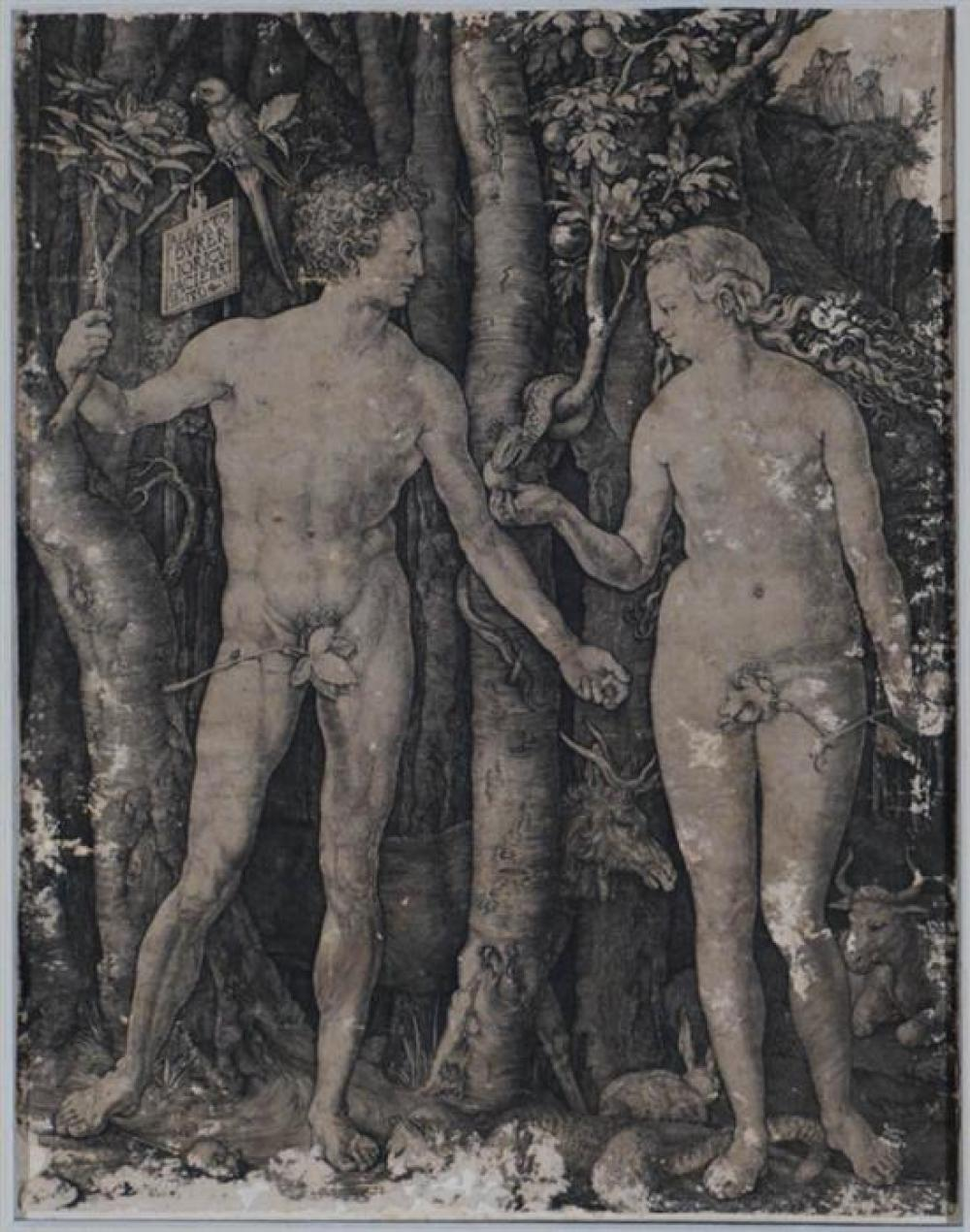 Albrecht Dürer (German 1471-1528), Adam and Eve