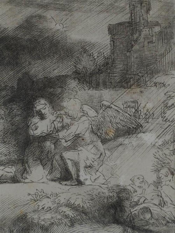 Rembrandt Harmensz van Rijn (Dutch 1606-1669), The Annunciation
