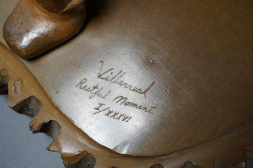 Víctor Villarreal (Mexican b. 1936), Restful Moment