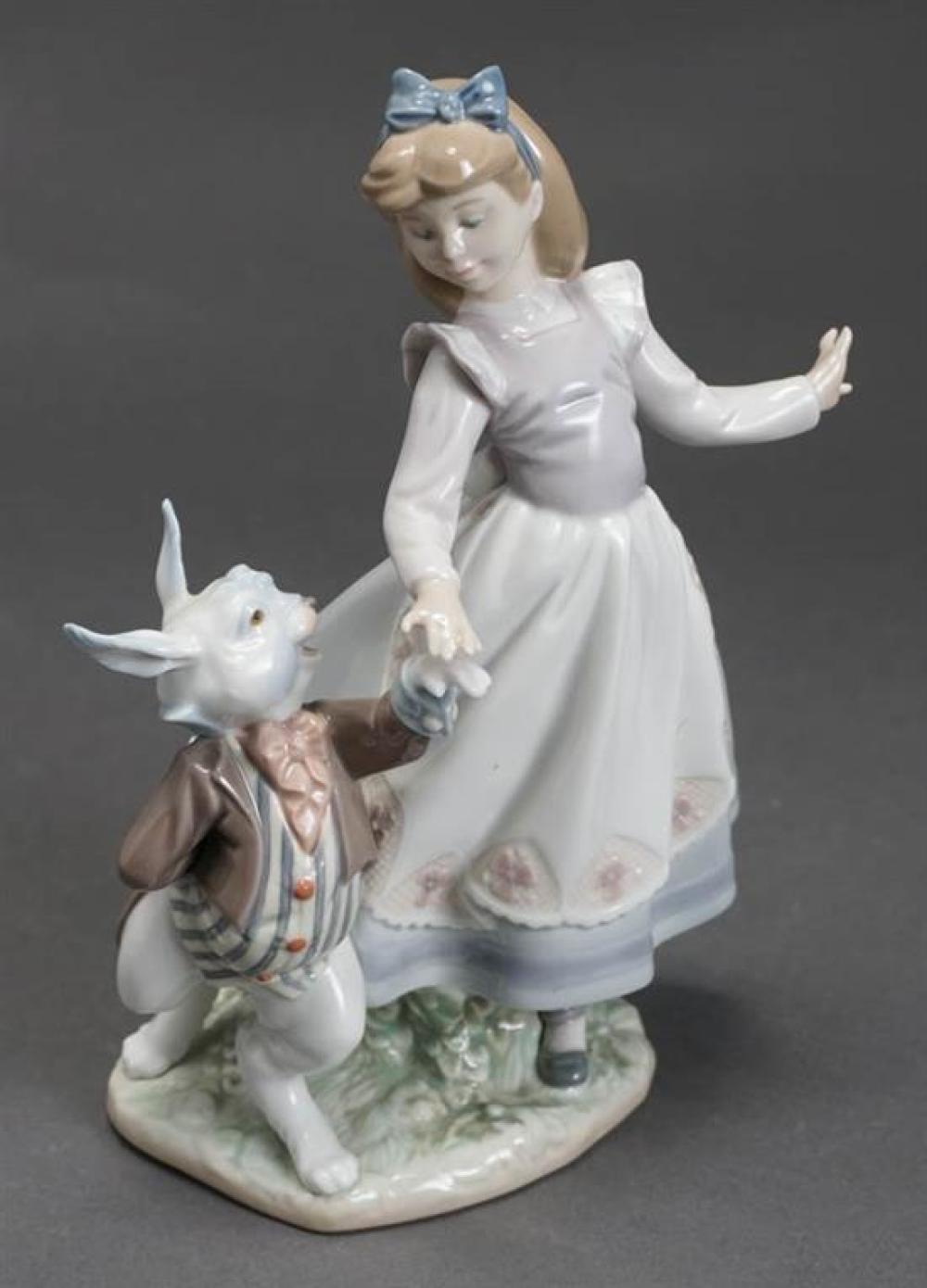 Lladró Figure of 'Alice in Wonderland' Post 1950