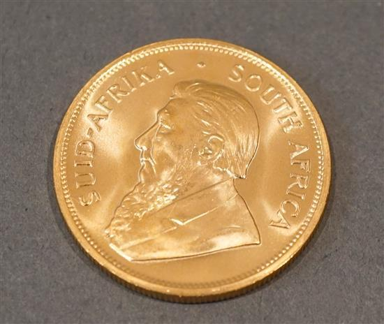 South African 1977 1-Ounce Gold Krugerrand