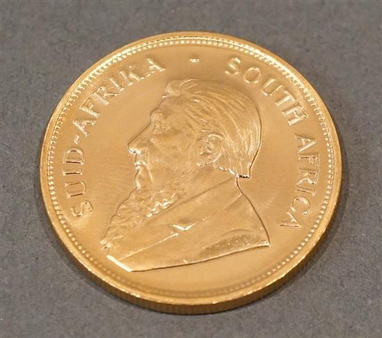 South African 1979 1-Ounce Gold Krugerrand