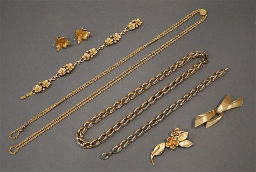 Group with Heavy Gold Filled Jewelry