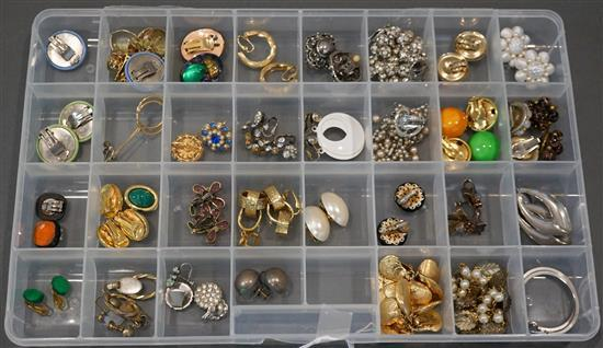 Collection with Costume Earrings