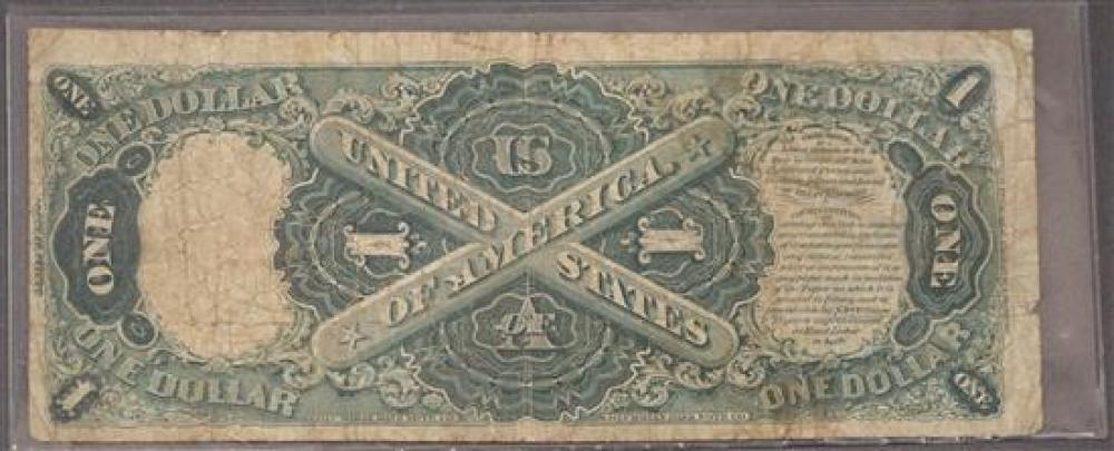 US Series 1880 One-Dollar Note (Large Size)