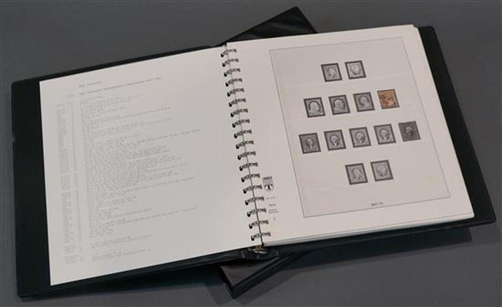 One Volume of Early 20th Century US Stamps