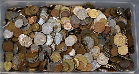 Large Collection with Foreign Coins
