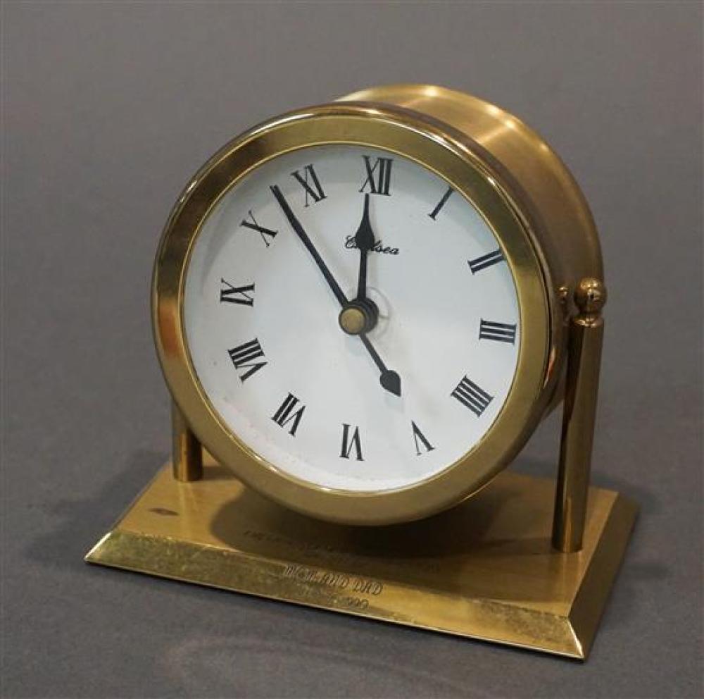 Chelsea Brass Ship's Clock