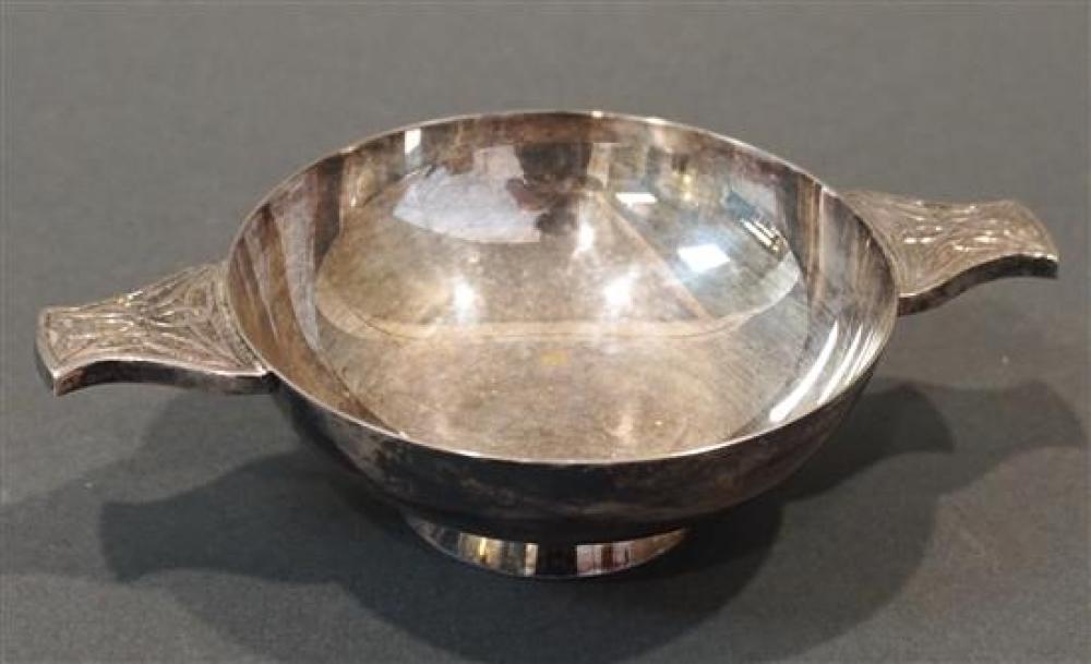 Scottish Sterling Silver Quaich, 6.5 oz