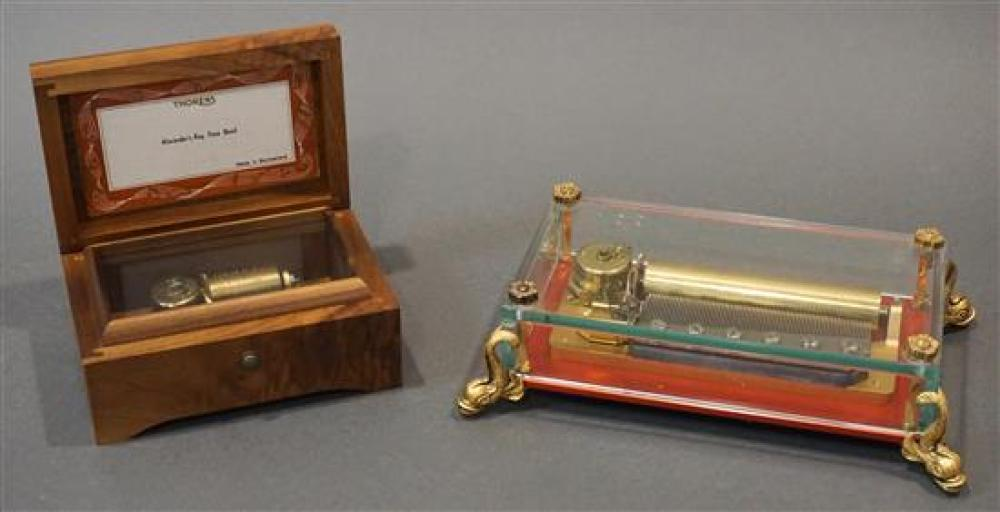 Two Swiss Music Boxes