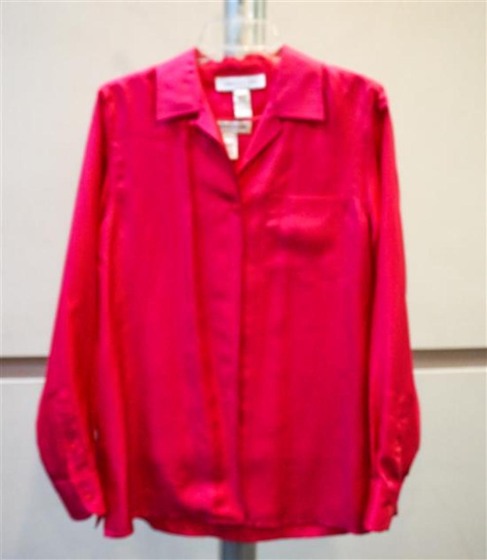 Norton McNaughton Jacket, Clio Vest and a Norton New York Pink Silk Shirt and Tank Top