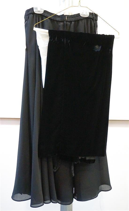 Three Long Skirts