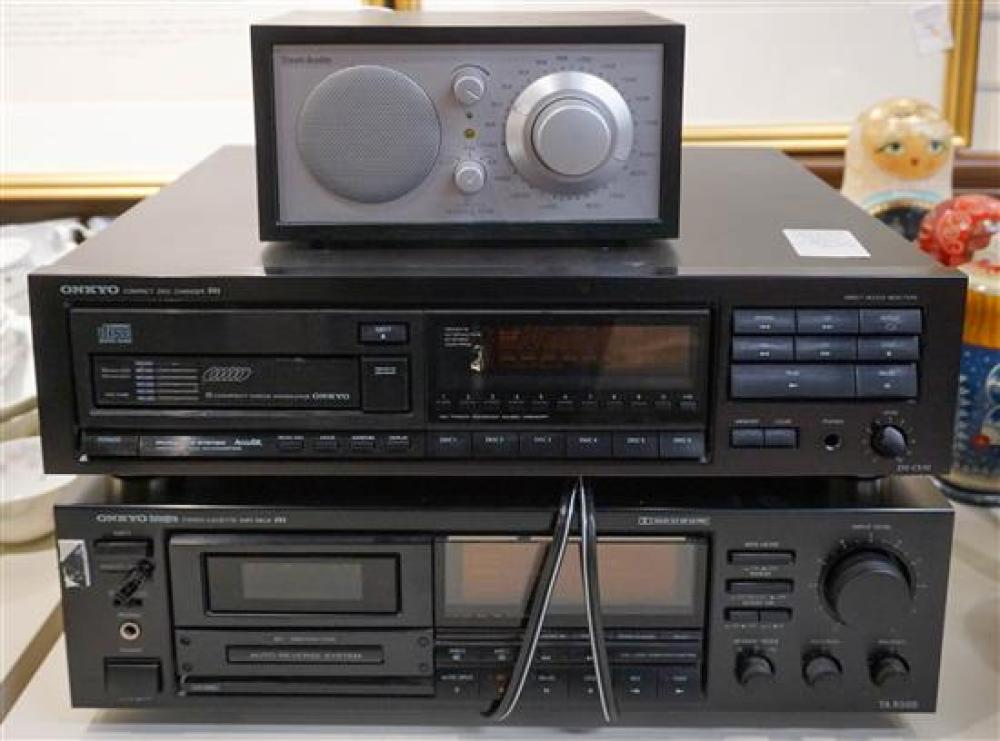 Onkyo CD Changer, DX-C510 and Onyko Cassette Deck, TA-R500