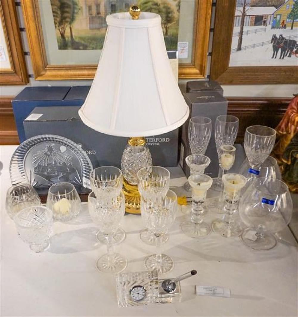 Collection of Waterford Crystal Table Articles (some with original boxes)