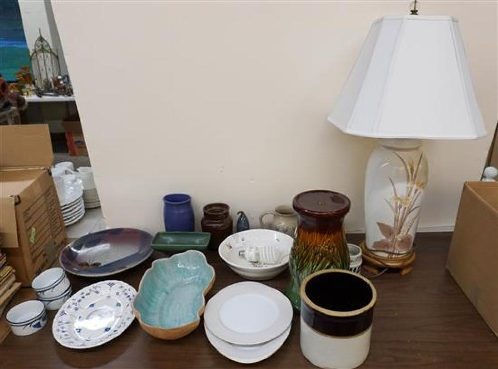 Collection with Ceramics and other Articles