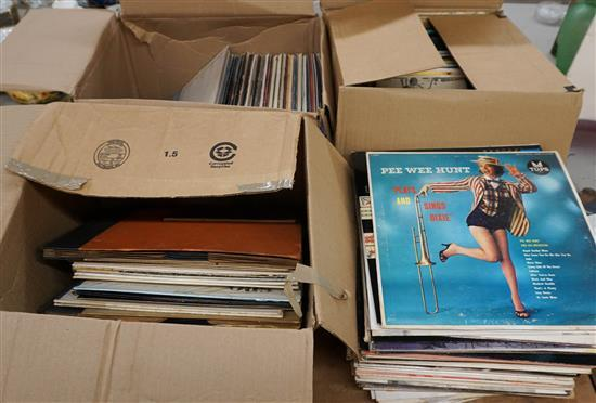 Collection of Long Playing Records
