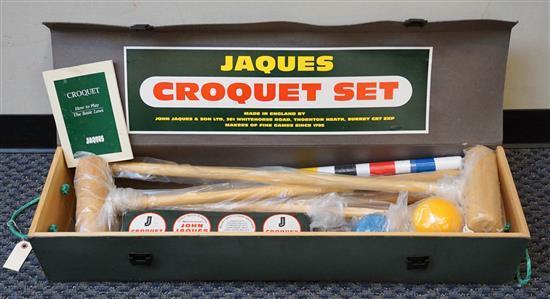 Jaques Croquet Set with Case