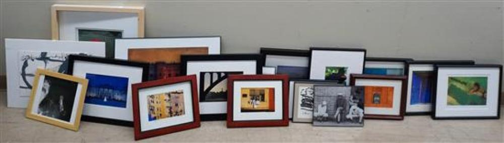 Group with Framed Photographs and Prints