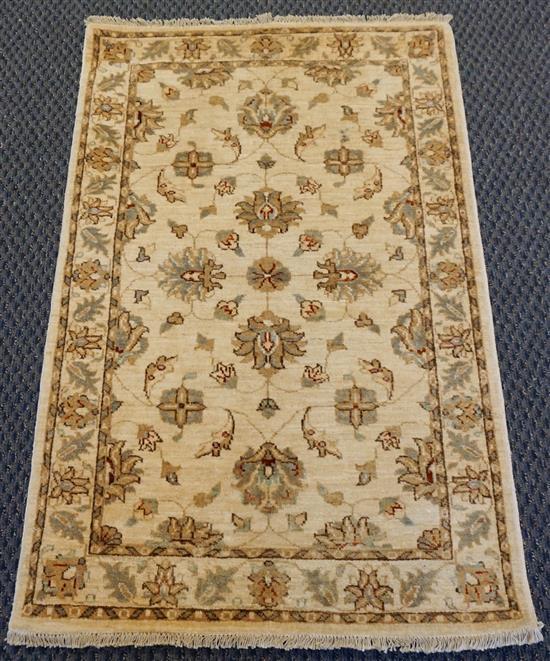Pakistan Keshan Pattern Scatter Rug, 5 ft x 3 ft 1 in