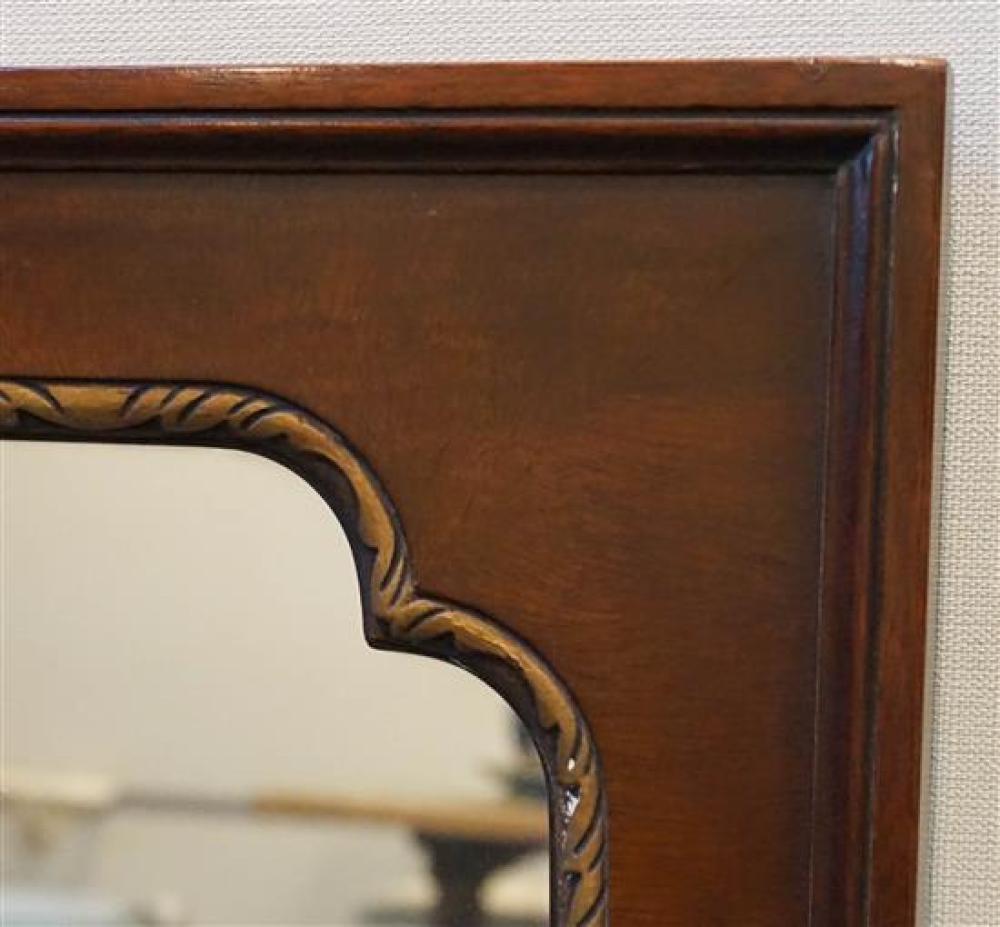 Parcel Gilt Mahogany Frame Mirror, 39 x 49 inches