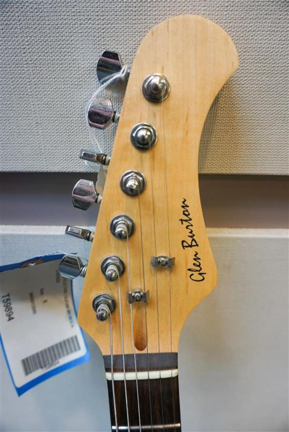Glen Burton 'Rock Legends' Autographed Electric Guitar
