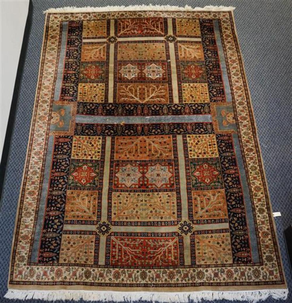 Indo-Tabriz Rug, 10 ft 6 in x 6 ft 6 in