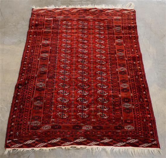Teke Bokhara Rug, 6 ft 7 in x 4 ft 4 in