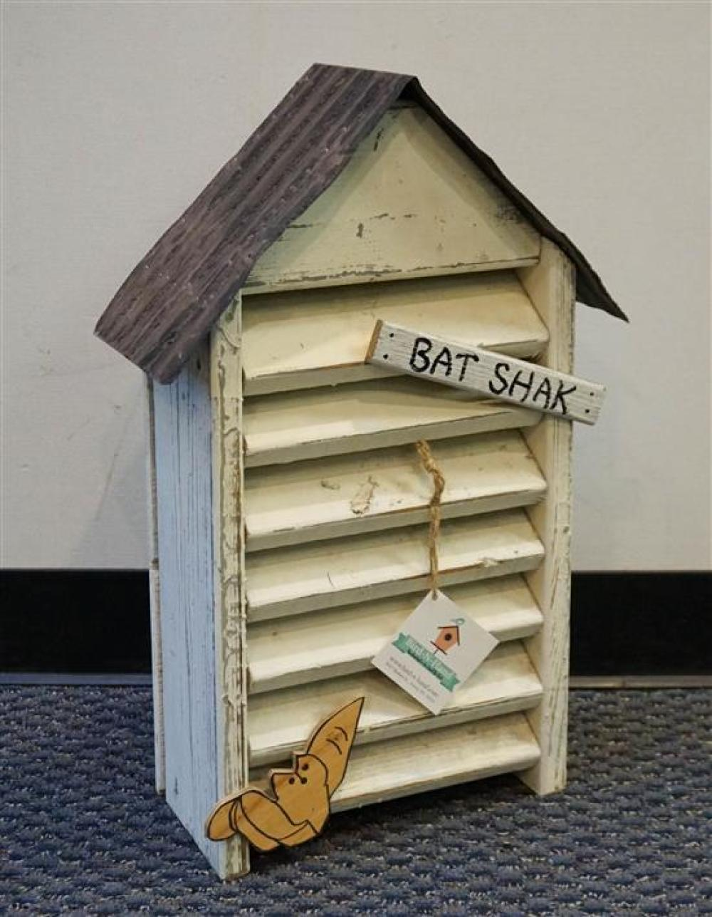 Painted Wood 'Bat Shak'