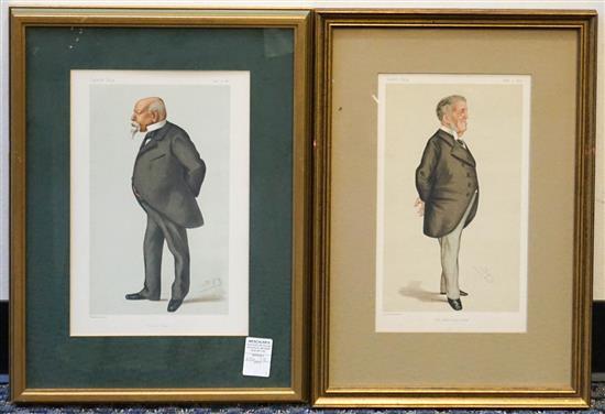 Two Vanity Fair 'Spy' Prints