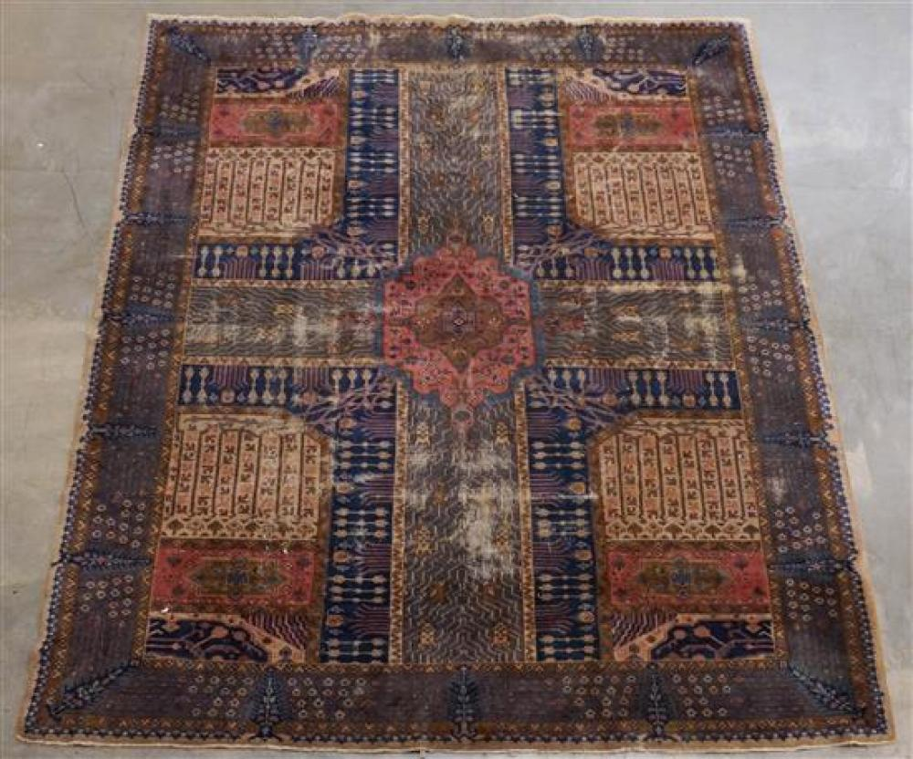 Turkish Rug, 12 ft 7 in x 9 ft 4 in
