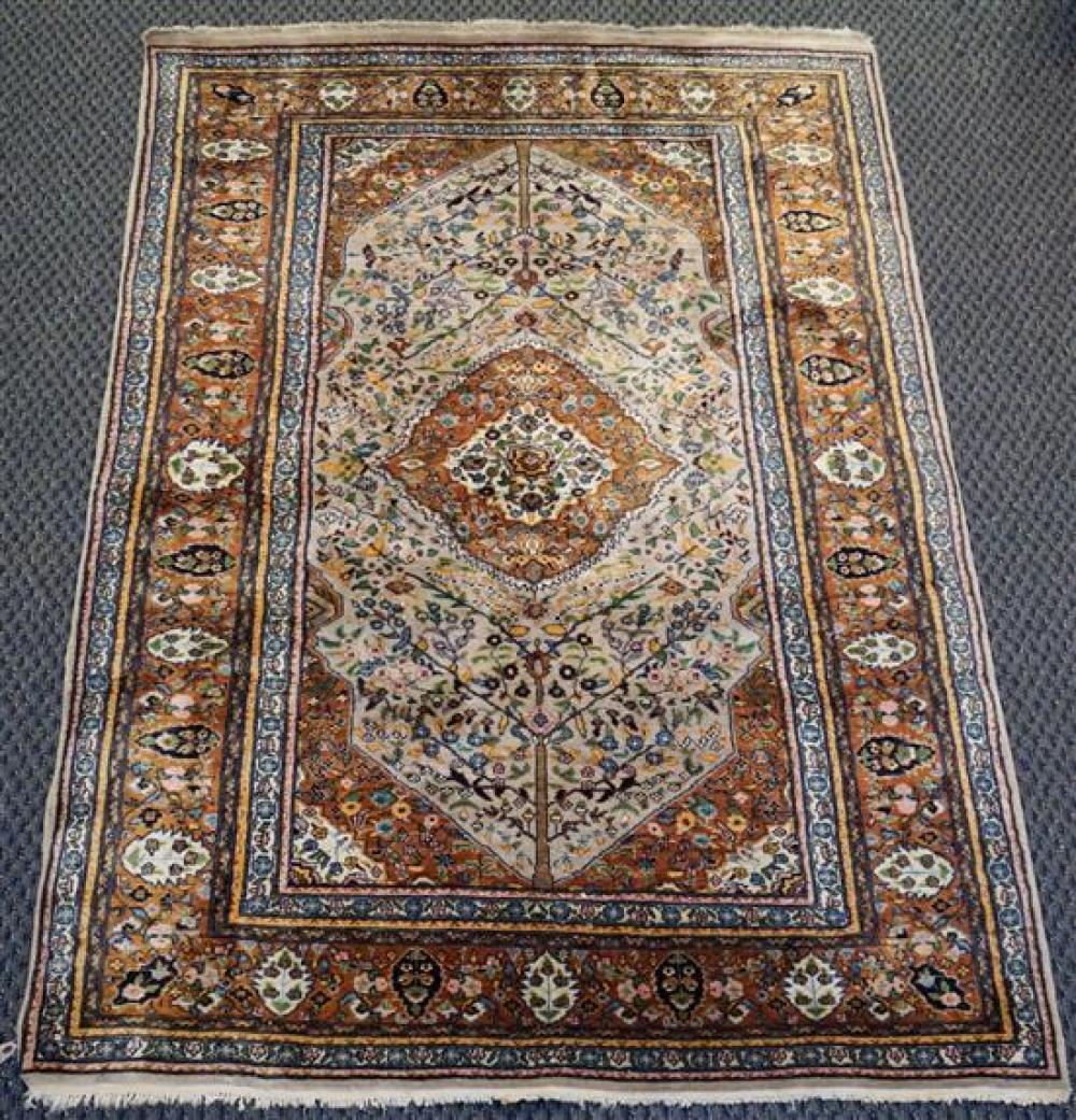 Tabriz Rug, 7 x 4 ft 7 in