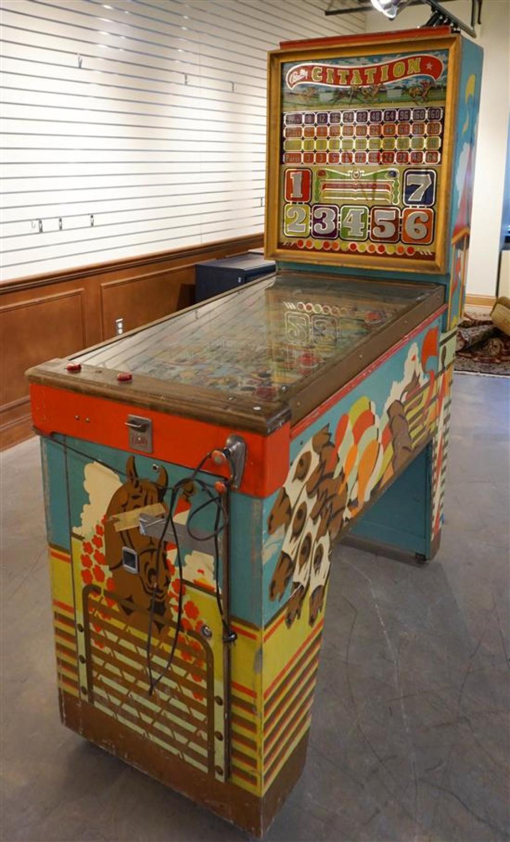Bally Citation Vintage Pinball Machine