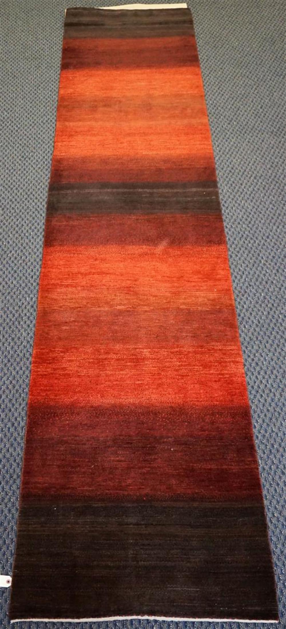 Haynes Robinson Indian Wool Runner, 12 ft 7 in x 2 ft 9 in