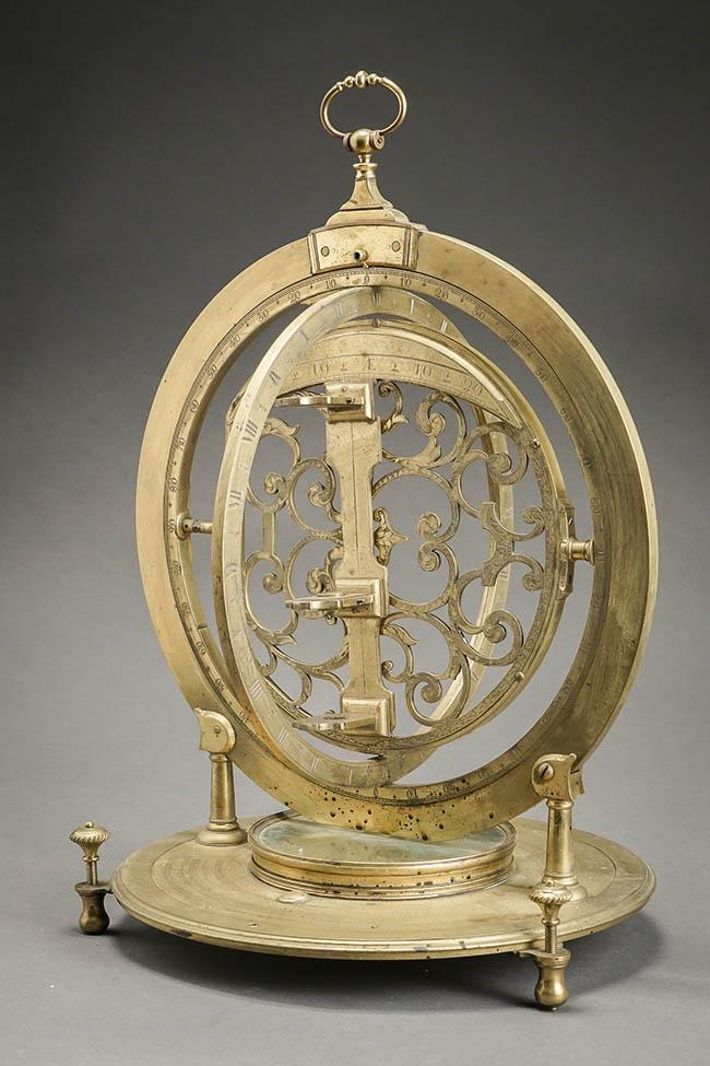 George II-III Brass 18-Inch Geodetic Theodolite 18th Century
