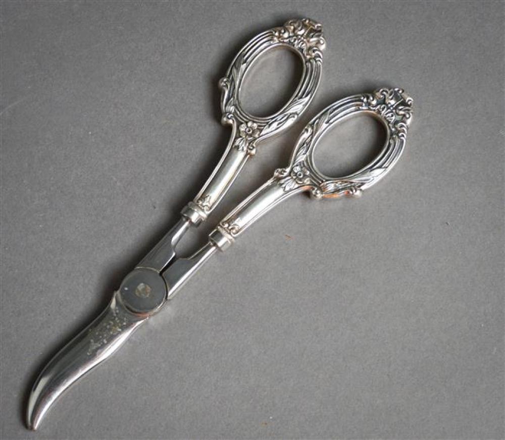 Sterling Silver Handle Grape Shears