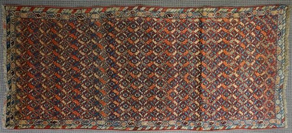 Kurdish Rug, 3 ft 8 in x 8 ft 3 in