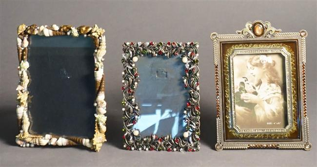 Three Contemporary Decorated Frames