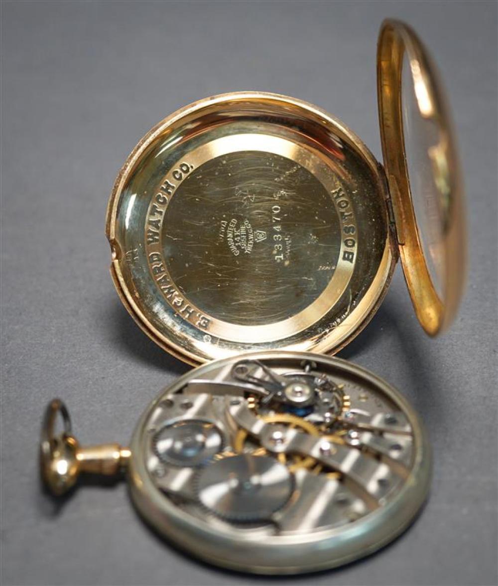Gentleman's E. Howard Watch Co. 14-Karat Yellow-Gold Openface Pocket Watch, circa 1908, 36.1 gross dwt., D: 48mm