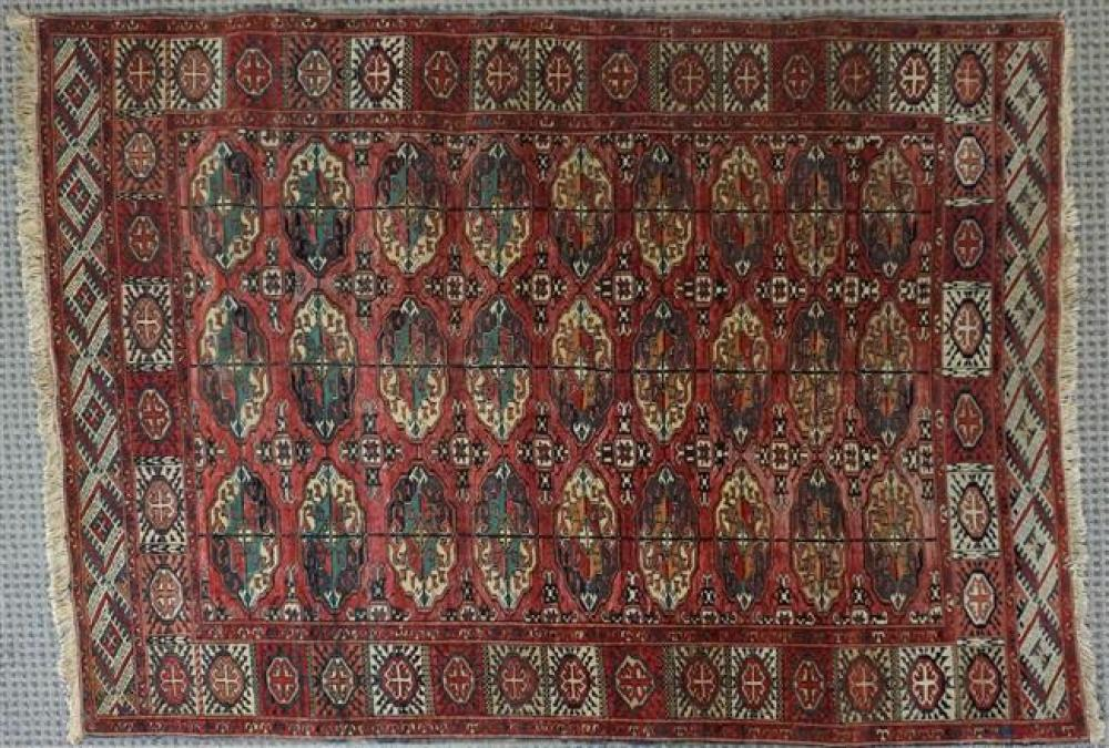 Turkoman Rug, 5 ft x 3 ft 8 in