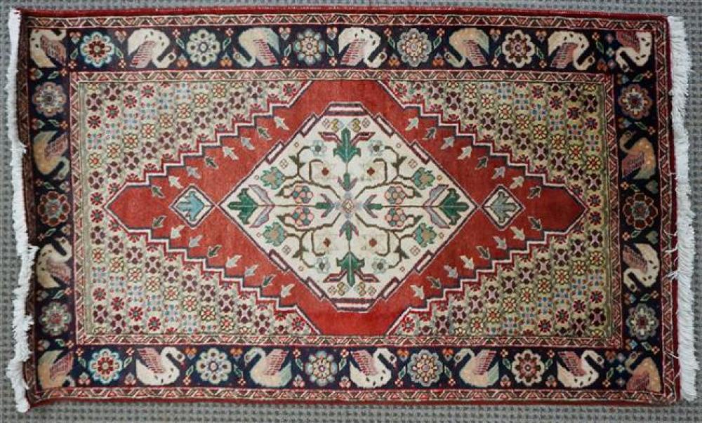 Tabriz Rug, 2 ft 9 in x 4 ft 7 in