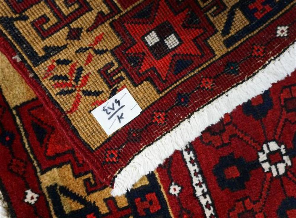 Two Heriz Rugs, Larger: 2 ft x 2 ft 1 in