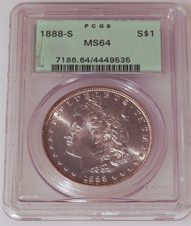 U.S. 1888-S Morgan Silver Dollar