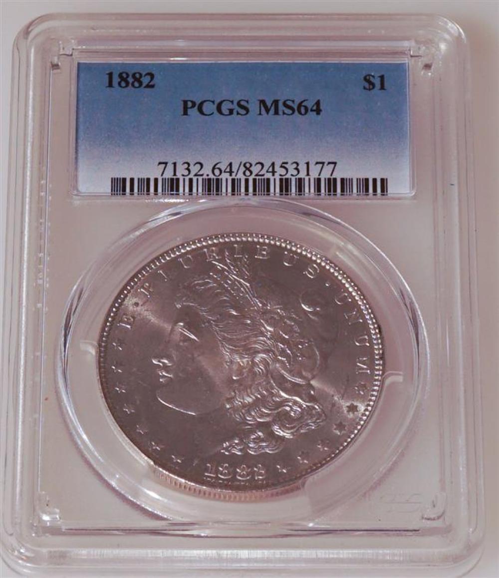 U.S. 1882-P Morgan Silver Dollar