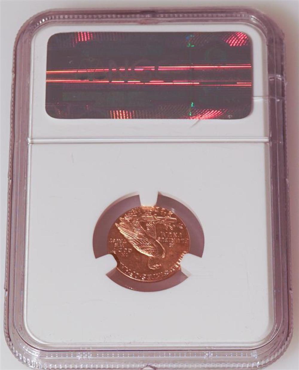 U.S. 1929 Indian Head 2-1/2-Dollar Gold Coin