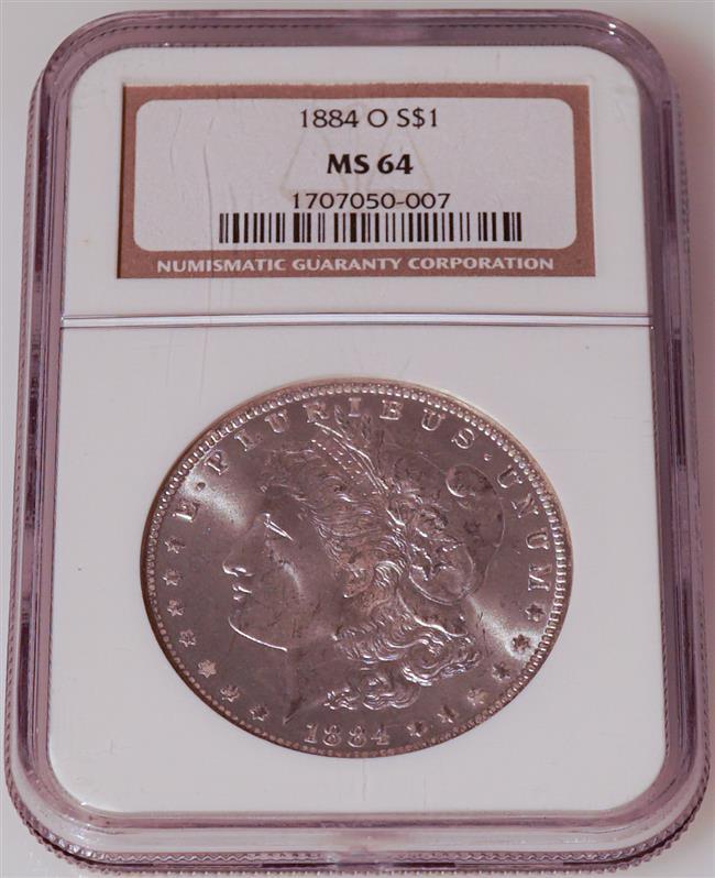U.S. 1884-O Morgan Silver Dollar