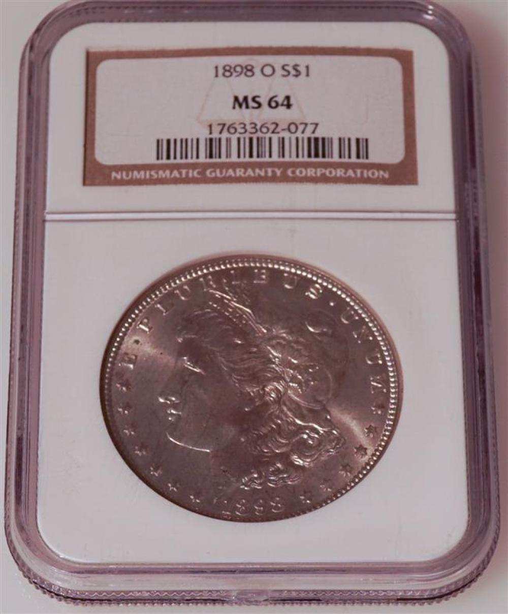 U.S. 1898-O Morgan Silver Dollar