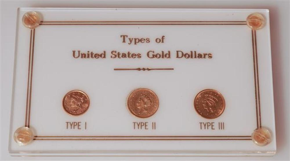 Types of United States Gold Dollars