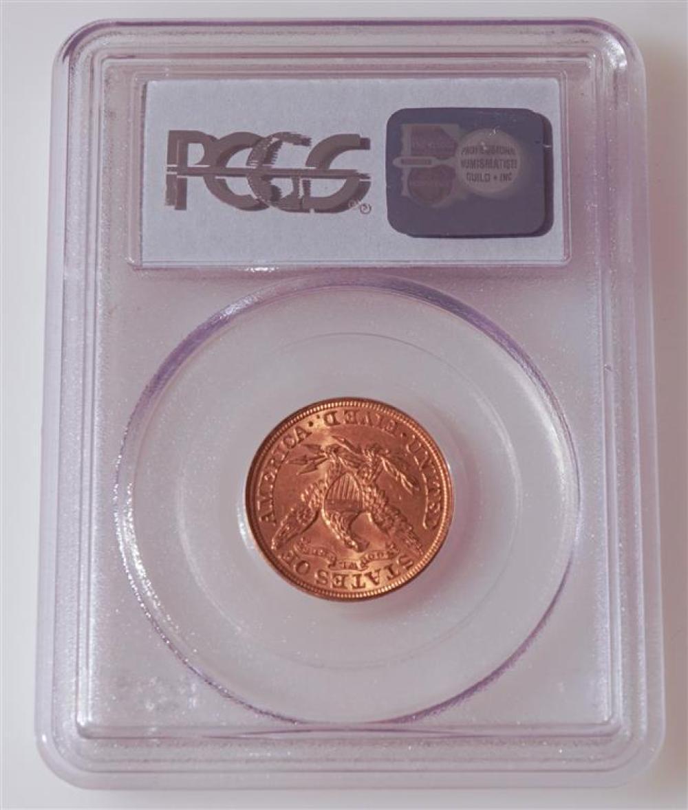 U.S. 1900 Liberty Head Five-Dollar Gold Coin